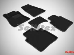 Ворсовые 3D коврики для Nissan Sentra 2014-н.в.