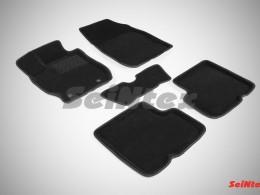 Ворсовые 3D коврики для Nissan Almera IV 2013-н.в.
