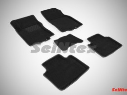 Ворсовые 3D коврики для Nissan X-Trail (T32) 2015-н.в.