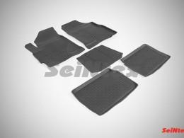 Резиновые коврики с высоким бортом для Chery Tiggo V 2014-н.в.