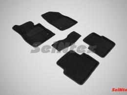 Ворсовые 3D коврики для Mazda 3 2013-н.в.