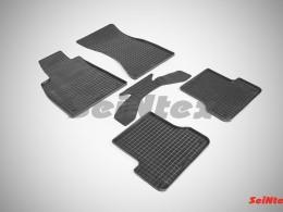 Коврики резиновые (рисунок Сетка) для Audi A-7 2010-н.в.