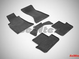 Коврики резиновые (рисунок Сетка) для Audi A-5 Sportback 2008-н.в