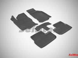 Резиновые коврики с высоким бортом для Datsun mi-DO 2015-н.в.
