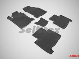 Резиновые коврики с высоким бортом для Lexus NX (кроме версий с гибридным двигателем) 2014-н.в.