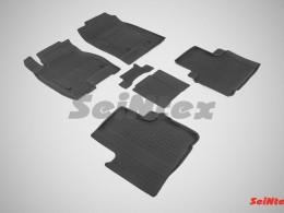 Резиновые коврики с высоким бортом для Haval H6 2014-н.в.