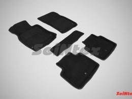 Ворсовые 3D коврики для Infiniti Q70 (M37X) 2010-н.в.