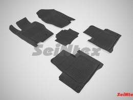 Резиновые коврики с высоким бортом для Haval H8 (2 ряда) 2014-н.в