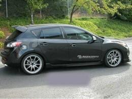 Наклейка Mazda Speed белая