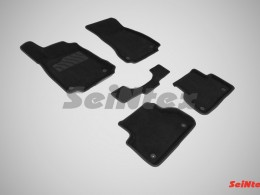 Ворсовые 3D коврики для Audi A4 (B9) 2015-н.в.