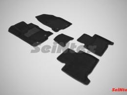 Ворсовые 3D коврики для Lexus NX 200 460 2014-н.в.