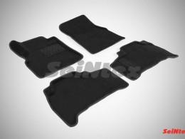 Ворсовые 3D коврики для Toyota Land Cruiser 200 2007-2012