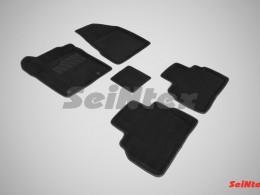 Ворсовые 3D коврики для Nissan Murano III 2016-н.в.