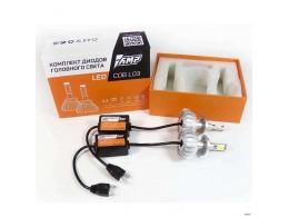 Светодиоды головного света AMP L03 COB-чип цоколь H7 6000K 2 шт/компл. [AMP B0000027949]