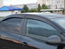 Дефлекторы окон Chevrolet Aveo Sedan (с 2011 г.)