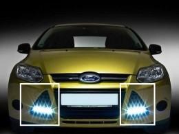 ДХО Ford Focus 3 (матовые) VER. 2