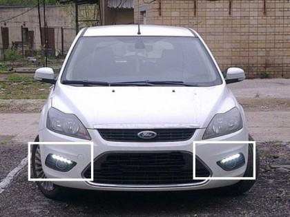 Дневные ходовые огни для Ford Focus 2