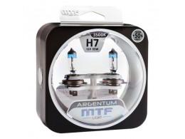 Лампа галогенная H7 Argentum +50%