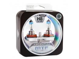 Лампа галогенная H8 Argentum +50%