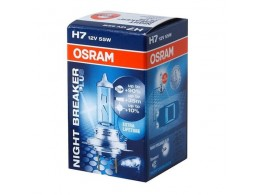 Лампа Osram H7 12V 55W NIGHT BREAKER PLUS+90