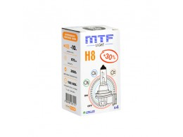 Лампа галогеновая H8 12V 35W Standart+30