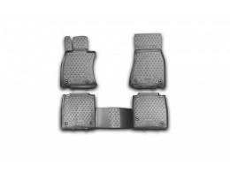 Коврики в салон для LEXUS LS 460 L, 2012-> 4 шт. (полиуретан)