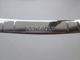 НАКЛАДКА НА БАМПЕР С ЗАГИБОМ Renault Logan (2014 )