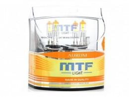 Комплект ламп MTF H27 12V 27W Aurum (2шт.)