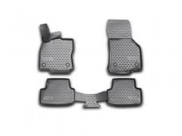 Коврики 3D в салон VW Golf VII, 2013-> 4 шт. (полиуретан)
