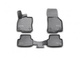 Коврики автомобильные 3D Novline для Volkswagen Golf VII, 2013->, в салон, 4 шт