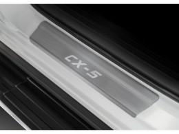 Накладки порогов для Mazda CX-5 2017-