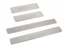 Накладки на пороги HYUNDAI ix35 2013