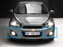 Противотуманные фары  Chevrolet Aveo (с 2011 г.)