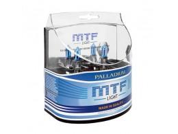 Комплект ламп MTF H1 12V 55W Palladium (2шт.)