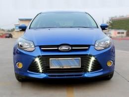 Дневные ходовые огни для Ford Focus 3 вертикальные
