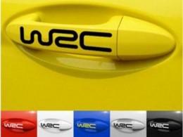 Наклейки на ручки авто W2C