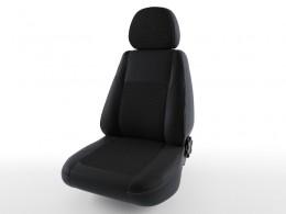 Чехлы экокожа Турин для Mitsubishi Lancer X (2012-)