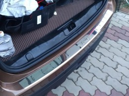 Накладка на задний бампер Lada X-Ray