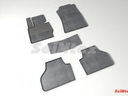 Коврики резиновые (рисунок Сетка) для BMW 4 ser F-32 Coupe Xdrive 2011-н.в.