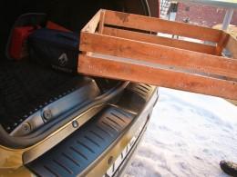 Накладка в проём багажник Рено Сандеро Степвей 2 с 2014 г.