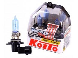 Лампы Koito HB3/9005 12V 65W (120w) Whitebeam III (2шт.)