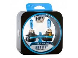 Лампа галогенная HB3 Titanium