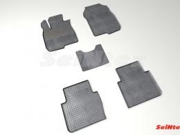 Коврики резиновые (рисунок Сетка) для Honda CR-V V 2016-н.в.