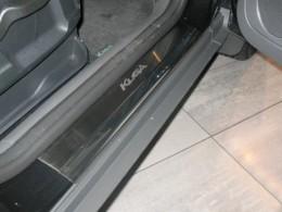 Накладки на пороги Ford KUGA  2013