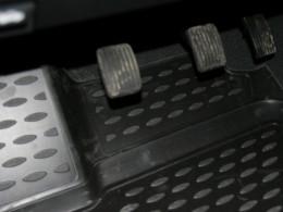 КОВРИКИ 3D В САЛОН NOVLINE Hyundai Getz (c 2002 г.), полиуретан