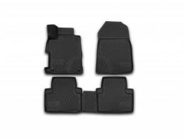 КОВРИКИ 3D В САЛОН NOVLINE Honda Civic 4D (c 2012 г.), полиуретан
