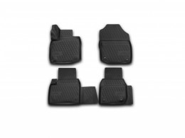 КОВРИКИ 3D В САЛОН NOVLINE Honda Civic 5D (c 2012 г.), полиуретан