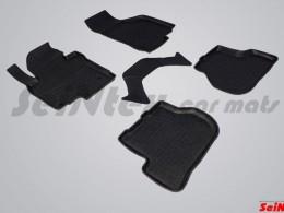 Резиновые коврики в салон SKODA OCTAVIA A5 (2008-12)