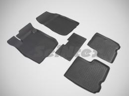 Резиновые коврики в салон LADA LARGUS