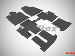 Резиновые коврики в салон NISSAN PATHFINDER IV (2014-)